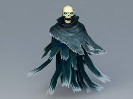 Skull Ghost 3d preview
