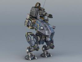 BattleTech MechWarrior 3d model preview