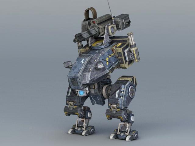 BattleTech MechWarrior 3d rendering