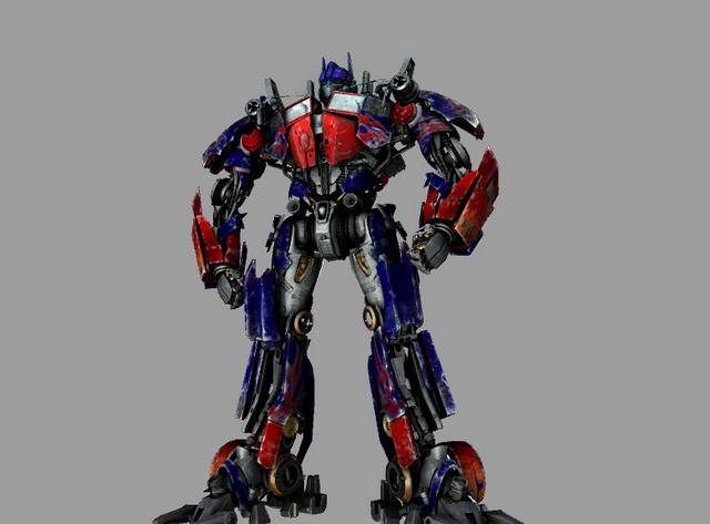 Transformers Optimus Prime 3d rendering