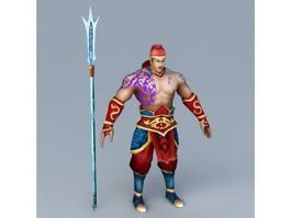 Ancient Warrior 3d model preview