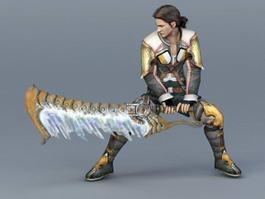 Greatsword Warrior 3d preview