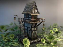 Lotus Pond Pavilion 3d preview