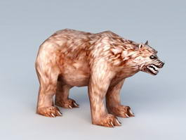 Brown Bear Rigged 3d preview