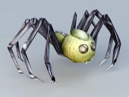 Spider Monster Rigged 3d model preview