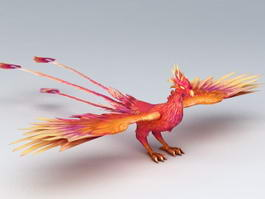 Mythical Creatures Phoenix 3d preview