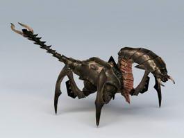 Fantasy Giant Scorpion 3d model preview