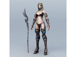 Mage Woman 3d preview