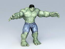 Marvel Avengers Character Hulk 3d model preview