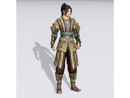 Ancient Chinese Martial Arts Master 3d preview