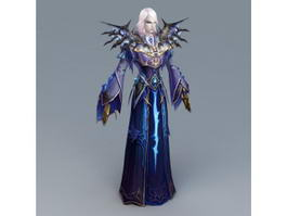 Magic Evil Wizard 3d preview