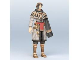 Ancient Persian Warrior 3d preview