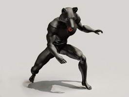 Werewolf Concept Art 3d preview