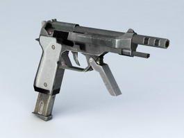 Machine Pistol 3d model preview