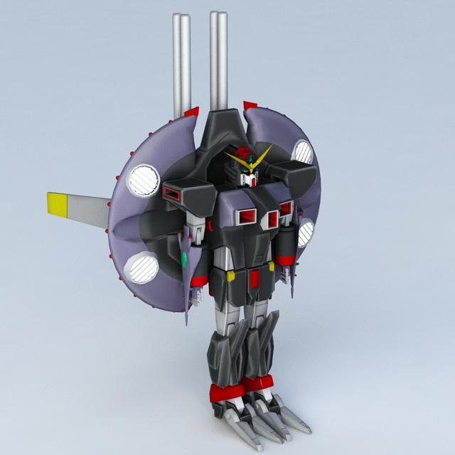 Gundam Seed Destiny Destroy 3d rendering