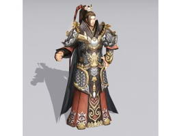 Chinese Imperial Prince Character 3d preview