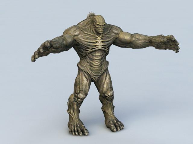 Marvel Abomination 3d rendering
