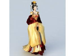 Chinese Empress 3d preview