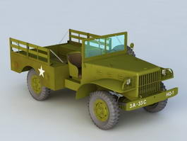 Dodge WC51 Truck 3d preview