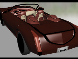 Cadillac ATS Convertible 3d preview