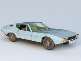 1967 Jaguar Pirana Bertone 3d preview
