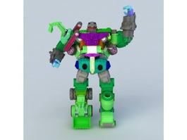 Transformers Animated Devastator 3d preview