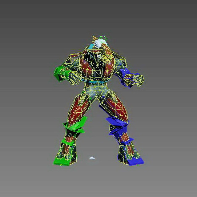 Humanoid Alien Monster 3d rendering