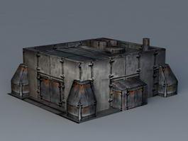 Sci-Fi Graving Dock 3d preview