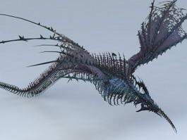 Sea Drake Monster 3d preview