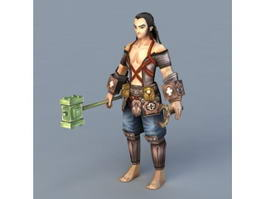 Medieval Weapons Mechanic 3d preview