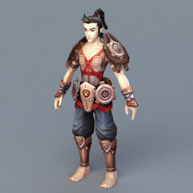 Ancient Times Mechanic 3d rendering