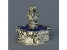 Vintage Fountain 3d preview