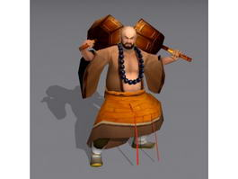 Shaolin Warrior Monk 3d preview