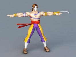 Street Fighter Vega 3d preview