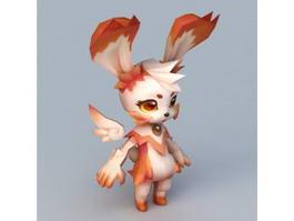 Anime Rabbit Spirit 3d preview