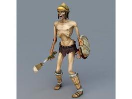 Mummy Warrior 3d preview