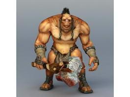 Cyclops Warrior Concept 3d preview