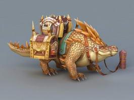 Dinosaur Pack Animal 3d model preview
