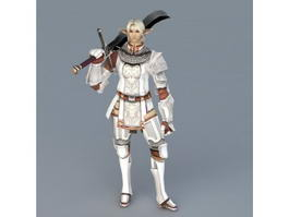 High Elf Knight 3d preview