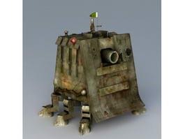 Sci Fi Mech Tank 3d preview