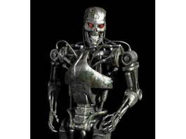 T-800 Endoskeleton Full Body 3d model preview