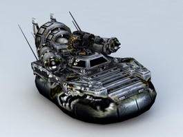 Future Hovercraft 3d preview