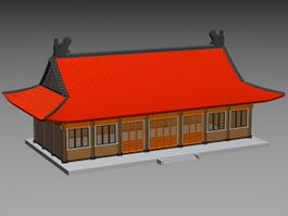 Chinese Palace 3d preview