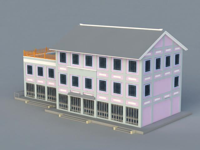 Architecture CG Representation 3d rendering