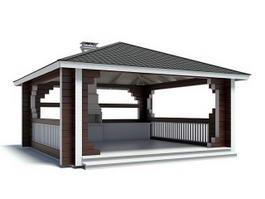 House Construction 3d model preview