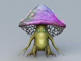 Cartoon Mushroom 3d preview