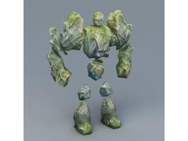 Rock Golem 3d preview