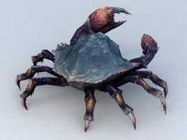Blue Crab 3d model preview