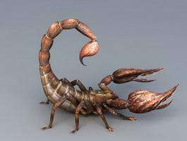 Desert Scorpion 3d model preview