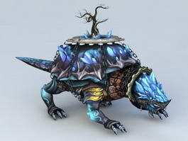 Xuanwu Tortoise 3d model preview